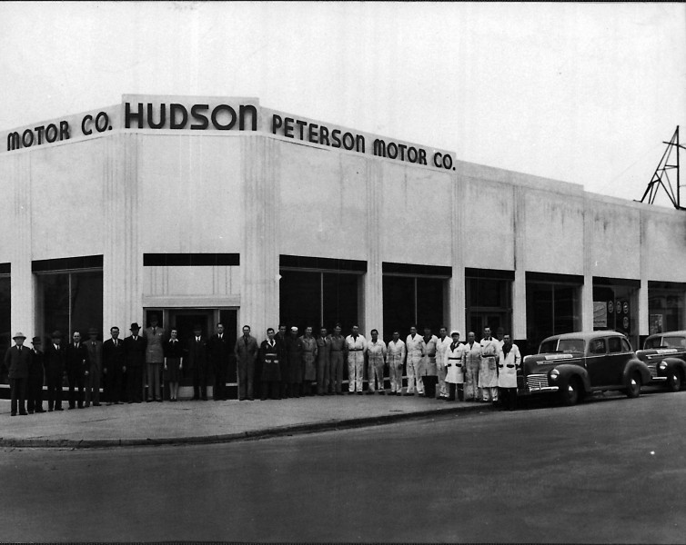 Peterson Motors Early 40's. Corner of 12th and Main Boise.