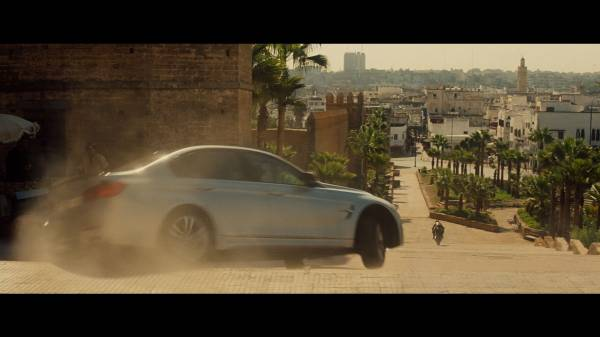 "The BMW M3 in ""Mission: Impossible - Rogue Nation"" (03/2015). © 2015 PARAMOUNT PICTURES. ALL RIGHTS RESERVED."