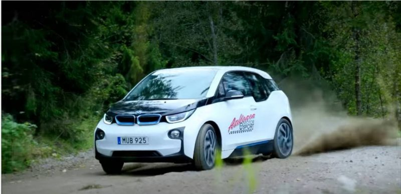 BMW i3 Drift