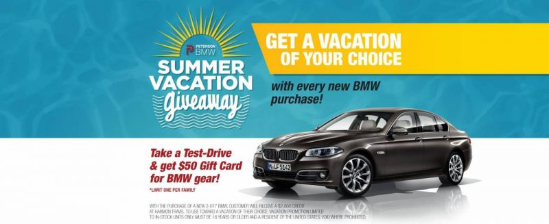 BMW Vacation