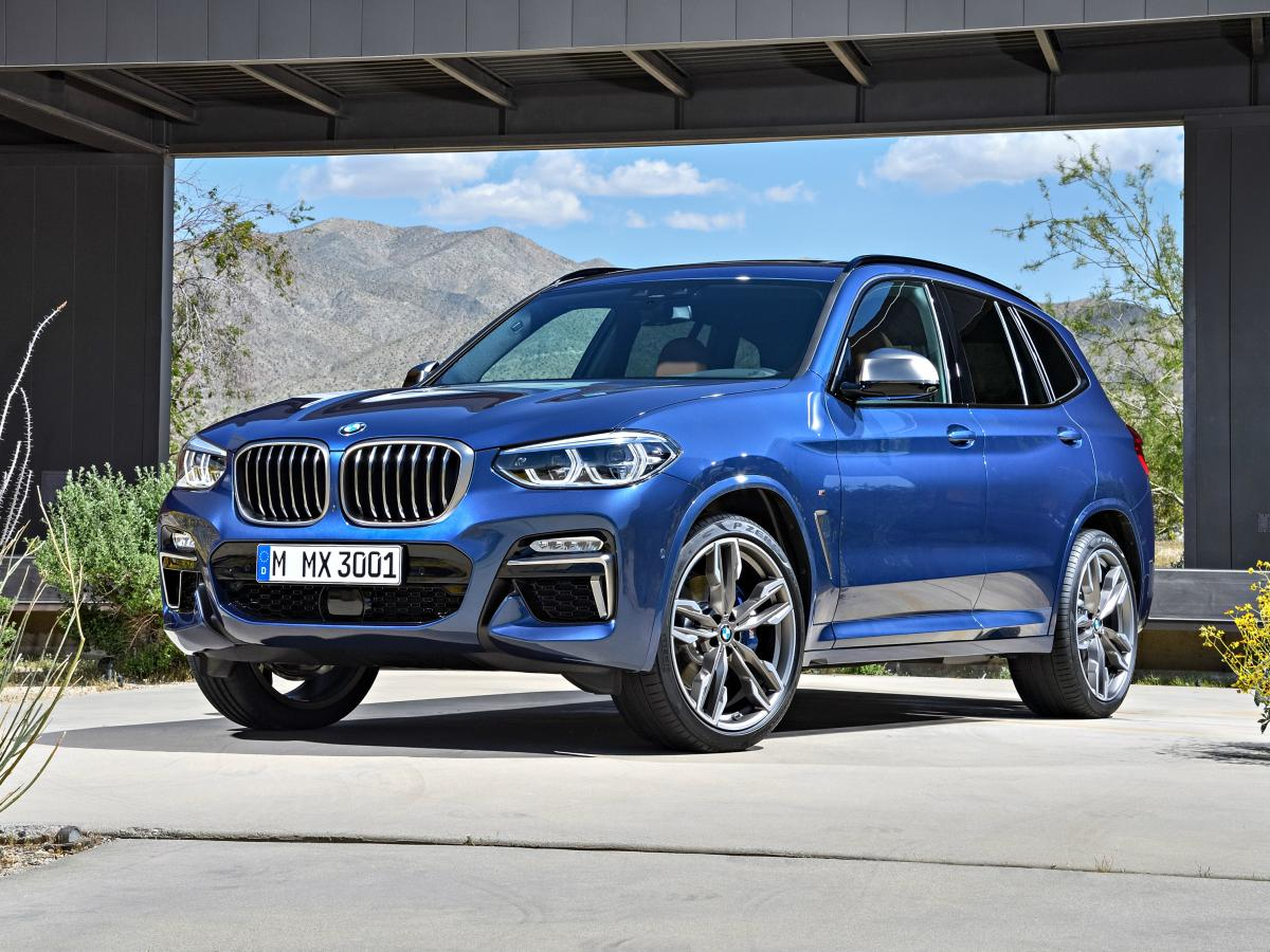 The 2018 X3 goes on sale later this year, and will be built right here in the U.S. at the brand's Spartanburg, South Carolina plant. (BMW)