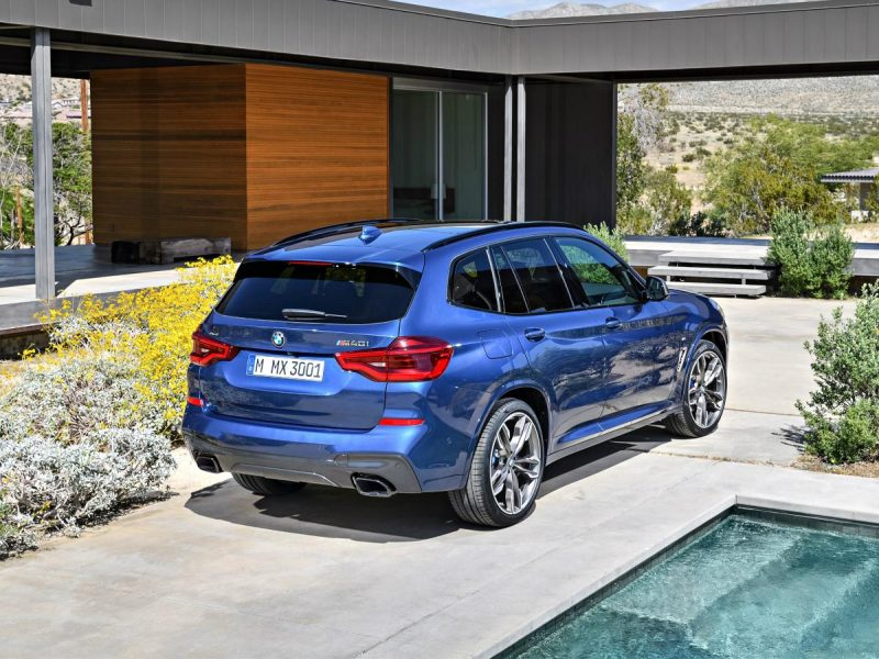 For the first time ever, an available sport-tuned M40i model gives the X3 sub-5-second 0-60 mph performance with 355 horsepower from a turbocharged inline-6. (BMW)
